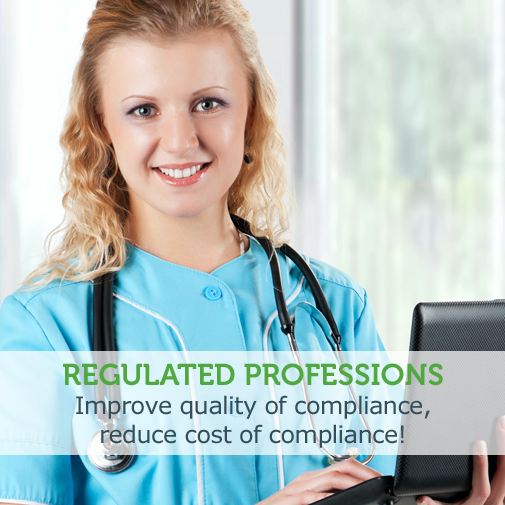 [Regulated Professions]